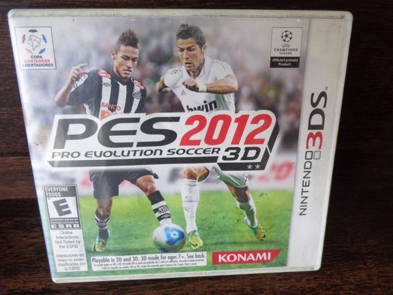 Pes 2012 Pro Evolution Soccer 3d 3ds - 100% Ok, Completo