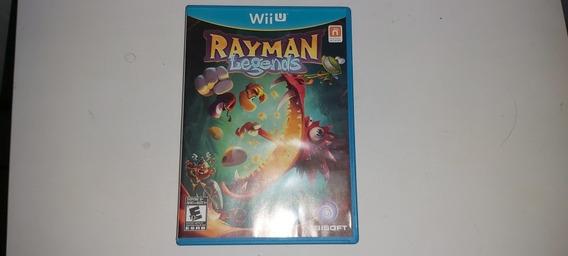 Rayman Legends Wii U Original Completo Mídia Física