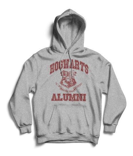 Buzo Canguro Harry Potter Hogwarts Alumni Calidad Premium