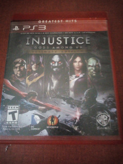 Injustice Gods Among Us Ultimate Edition Ps3 Seminuevo