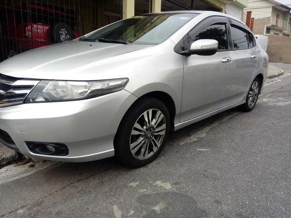 Honda City 2013 2013 Cinza Prata Automático