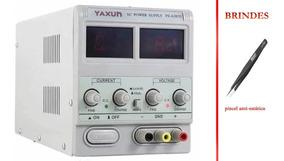 Fonte De Alimentação Digital Yaxun Yx 305d 5 Amp 30v Bivolt