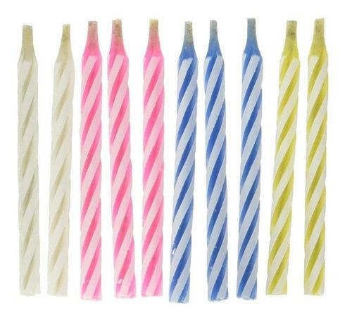 Imagen 1 de 6 de 10pc/lote Divertido Truco Velas Cumpleaños Pastel Decoración