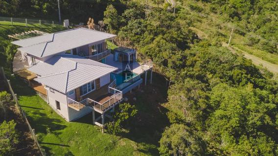 Casa A Venda No Bairro Morro Da Ferrugem Em Garopaba - Sc. - Kv518-1