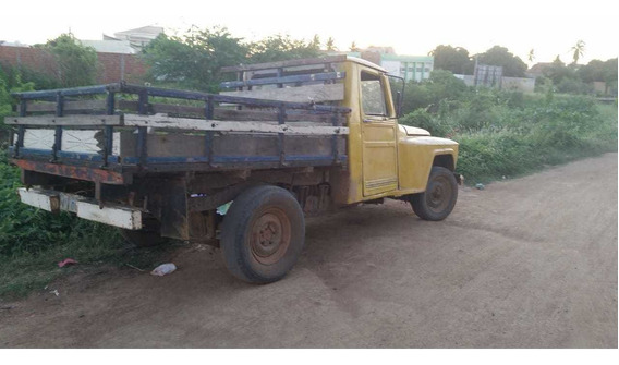 Picape Ford F75 Willys Pick Up Rural