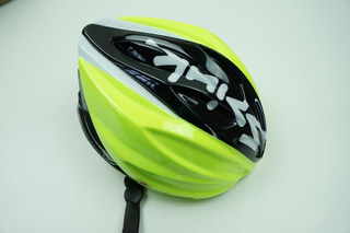 Capacete Bike Spiuk Dharma Cor Preto Com Verde S Com Viseira