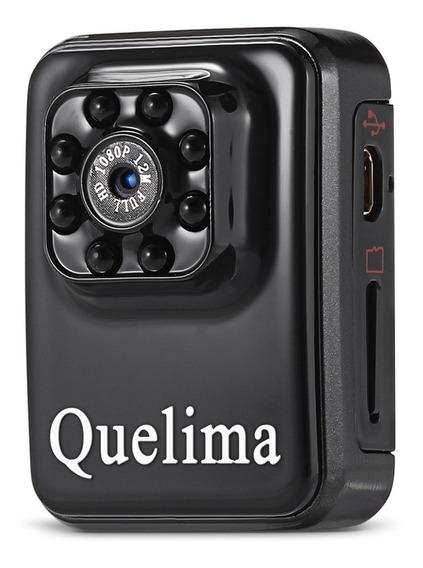 Mini Câmera Quelima Mini 1080p Fhd Dvr Wifi Notorno