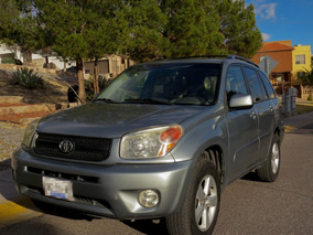 Toyota Rav4 Vagoneta Limited Piel At Version Lujo, 2005