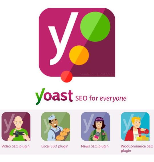 Yoast Seo Premium Wordpress Plugin Atualizado + 4 Addons