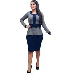 Vestido Evangelico Moda Social C/ Elastano Roupas Femininas