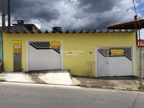 Imagem 1 de 14 de Vende-se Casa No Bairro Pq Rodrigo Barreto Em Arujá-sp 885