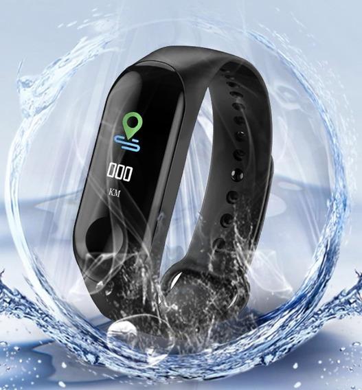 Pulsera Inteligente M3c+ 2019 - Hd Color - Smart Watch Band