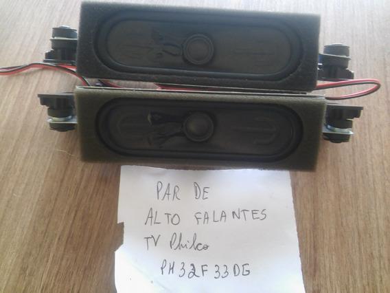 Par De Alto Falantes Tv Philco Ph32f33dg
