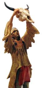 Indio Americano Ritual Apache Mod 50032