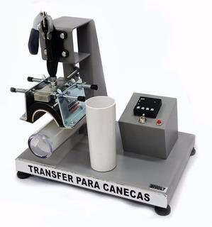 Maquina Transfer Para Long Drink, Canecas, Taça + 3 Culotes