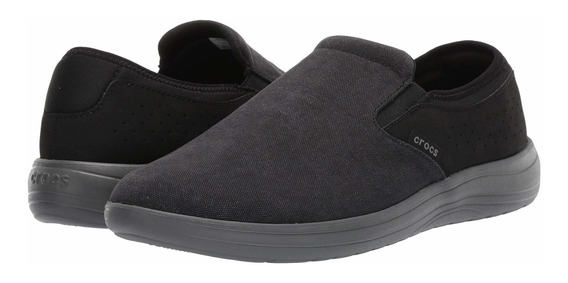 Tenis Hombre Crocs Reviva Canvas Slip-on N-1908