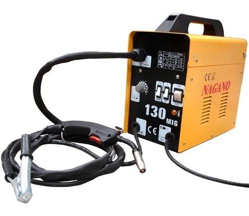 Máquina De Solda Mig. 130 Ampéres - Monofásica . 60 Hz- M