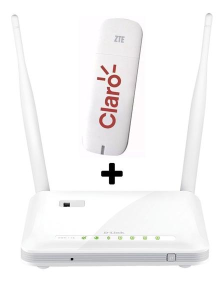 Roteador 3g 4g Wi-fi + Modem 3g Claro Vivo Tim Oi Nextel