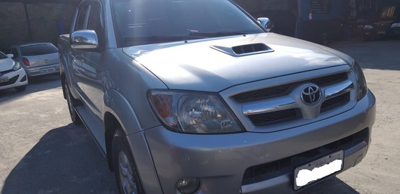 Toyota Hylux Srv Cabine Dupla Diesel Motor 3.0 Turbo