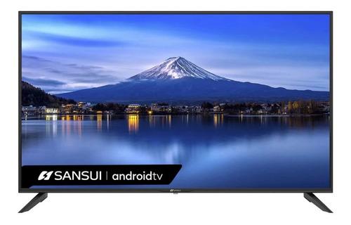 Imagen 1 de 4 de Tv Sansui 58 Pualgadas Smart Tv 4k Uhd Smx-58f3uad Android