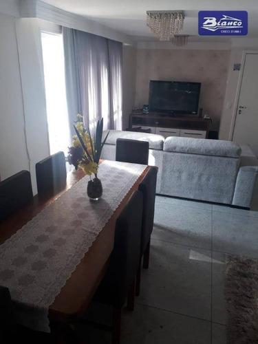 Cobertura Com 3 Dormitórios À Venda, 136 M² Por R$ 960.000,00 - Vila Augusta - Guarulhos/sp - Co0081