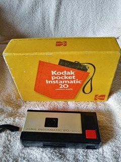 Camara Fotografica Antigua Kodak Instamatic Pocket 20 1972