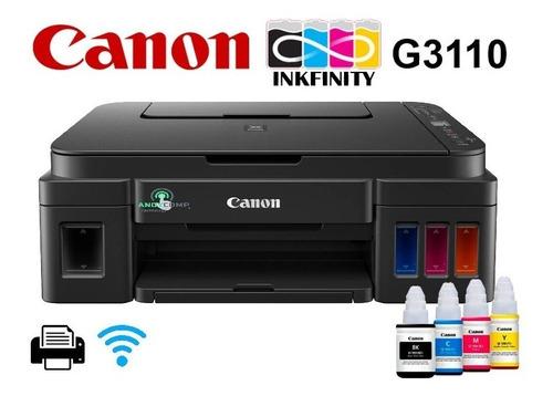 Canon G3101 = Epson + Wifi - Multifunción - Tinta Continua