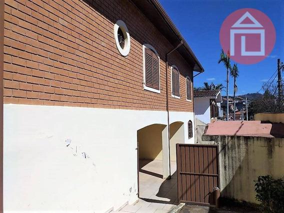 Casa Com 3 Dormitórios, 262 M² - Venda Por R$ 600.000,00 Ou Aluguel Por R$ 2.500,00/mês - Santa Luzia - Bragança Paulista/sp - Ca2677