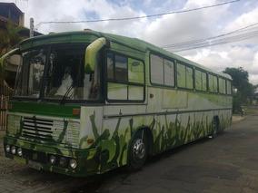 Onibus Volvo Ano 85 Motor B58 Motor Home Para Banda