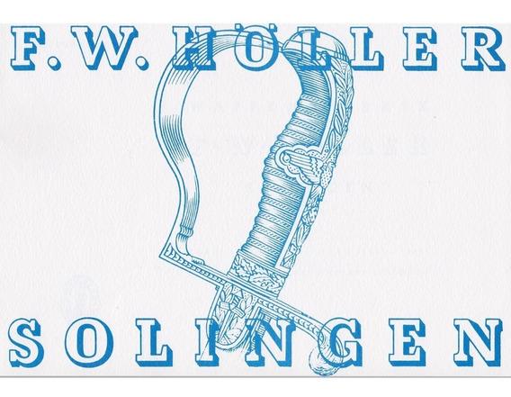 Catálogo De Adagas Espadas Exército Alemão Höller Solinger
