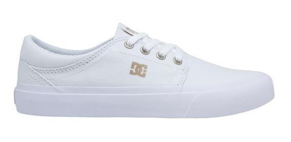 Tênis Dc Shoes Trase Tx Feminino White Gum