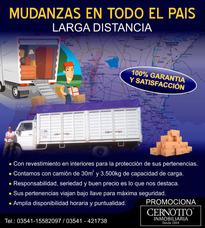 Servicio De Mudanza Larga Distancia, En Toda La Argentina.