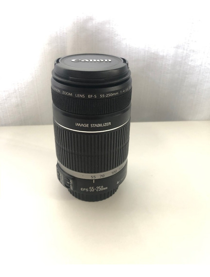 Lente Canon 55-250 Efs Is F4-5.6