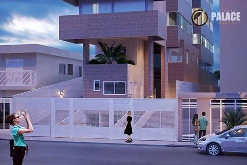 Imagem 1 de 30 de Apartamento Com 1 Dormitório À Venda, 44 M² Por R$ 246.125,00 - Vila Guilhermina - Praia Grande/sp - Ap2871