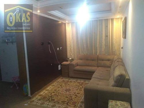 Imagem 1 de 8 de Apartamento Com 2 Dormitórios À Venda, 53 M² Por R$ 209.000,00 - Guaianazes - São Paulo/sp - Ap0505