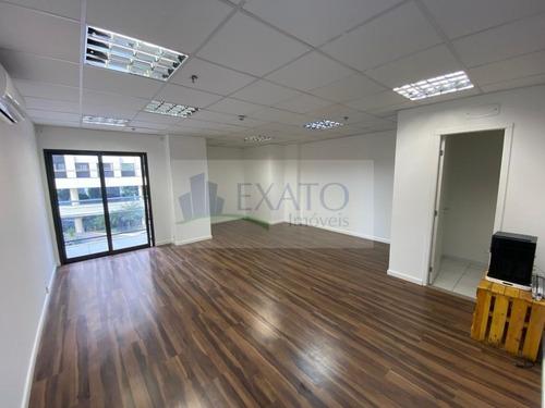 Imagem 1 de 15 de Sala Comercial Em Moema Passaros, Local De Ótimo Acesso  - Em50892
