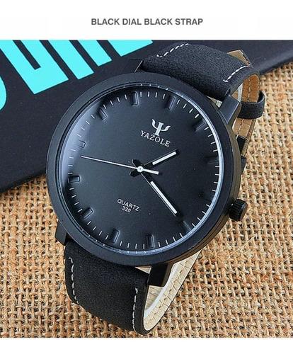 Reloj Yazole  Modelo Yzl320.  Estilo Casual.
