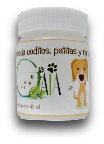 Pomada Perro Gato. 45 Ml Codos, Patas Y Nariz