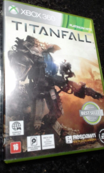Jogo Titanfall Xbox 360 Original Midia Fisica Semi Novo