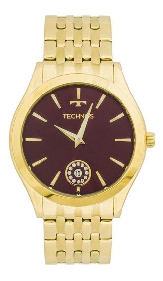 Relógio Unissex Technos Ladies Dourado - Original