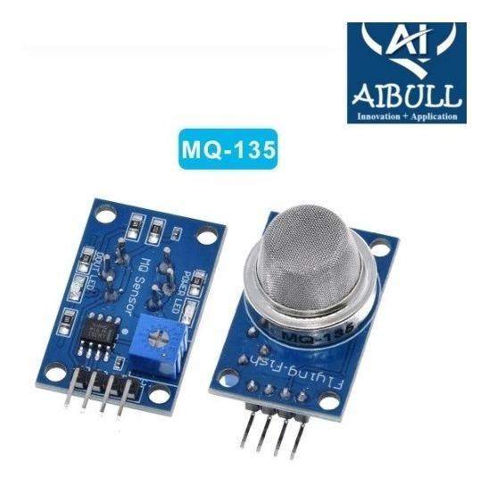 Sensor De Qualidade Do Ar Mq-135 Para Arduino Esp8266 Esp32