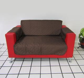 Funda Cubre Sofá Protector Reversible De Microfibra