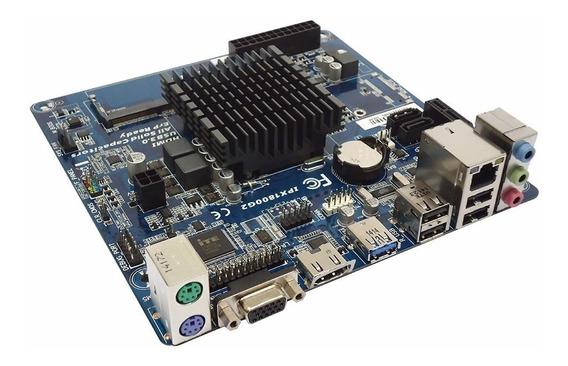 Placa Mãe Ddr3 J1800 Celeron Dual Core 2,41 Ghz C/ Hdmi