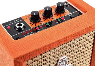 Amplificador Portátil Guitarra Electrica Orange Crush Mini