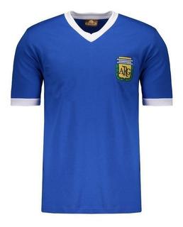 Camisa Argentina Retrô N° 10