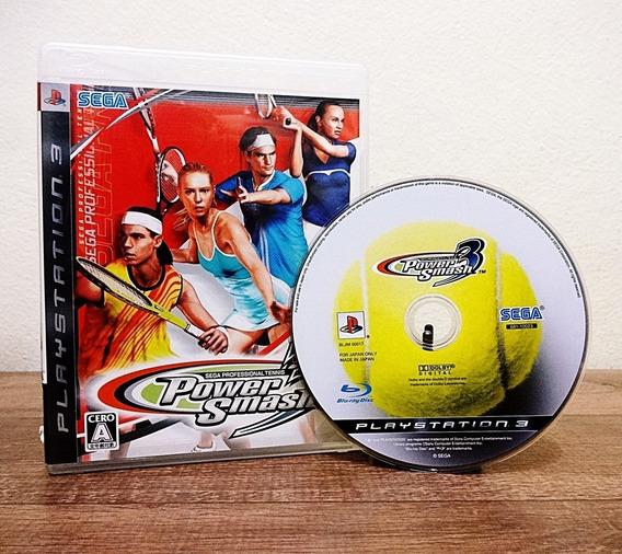 Power Smash 3 Ps3 (virtua Tennis 3)