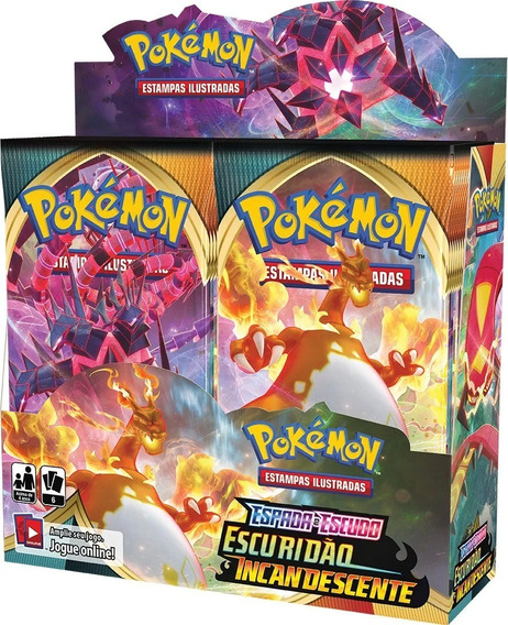 Booster Pokemon Ee3 Escuridão Incandescente Box 36 Unidades