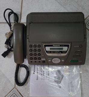 Aparelho Fax Panasonic Kx Ft 78 (com Secretaria Eletrônica)