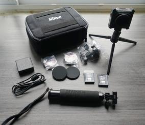 Câmera De Ação Nikon Keymission 360 Tripe Selfie Vr Completa