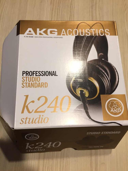 Fone Akg K240 Studio (top) Perfeito E Na Caixa